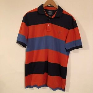 IZOD Luxury Sport Polo Shirt Men's Size M